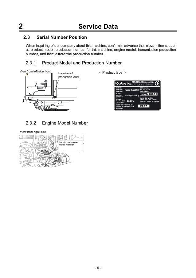 kubota kc250hr dumper service repair manual rh slideshare net L4600 Kubota Service Manual Kubota L4060 Operators Manual