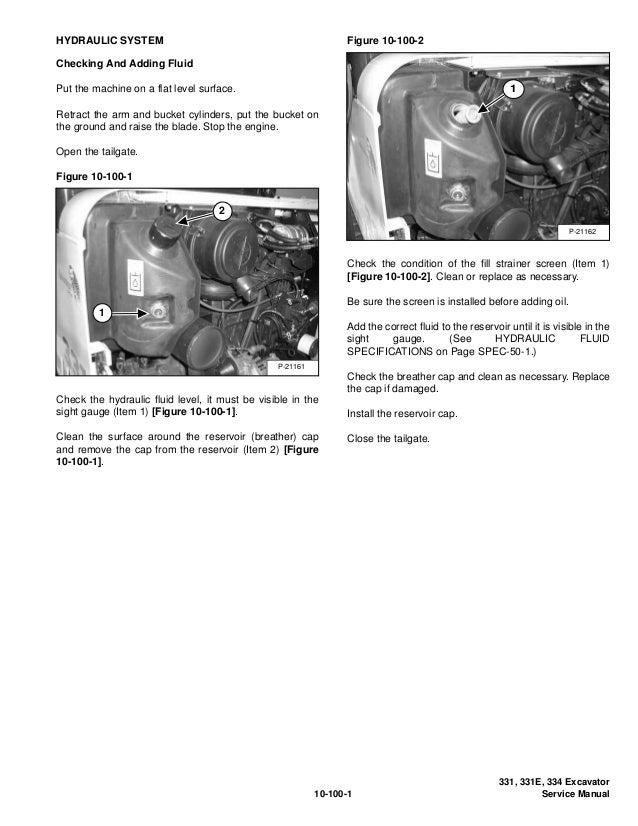 BOBCAT 331E COMPACT EXCAVATOR Service Repair Manual S/N