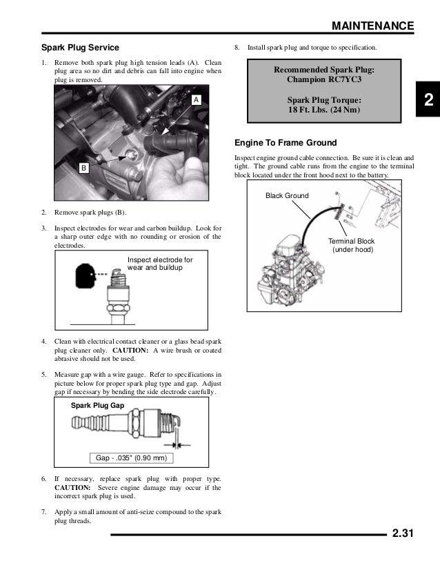 polaris ranger 700 efi service manual