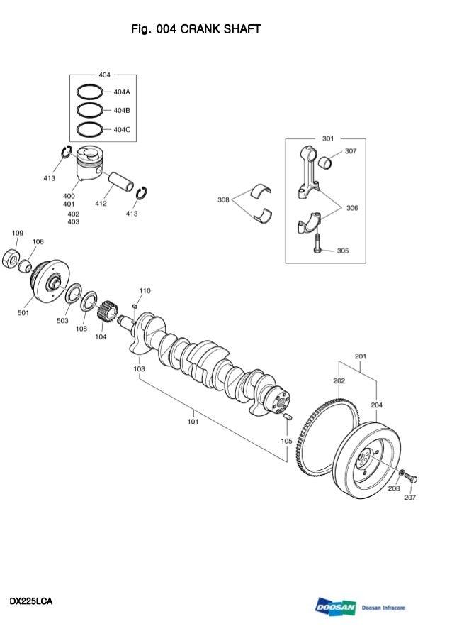 DAEWOO DOOSAN DX225LCA CRAWLER EXCAVATOR Service Repair Manual