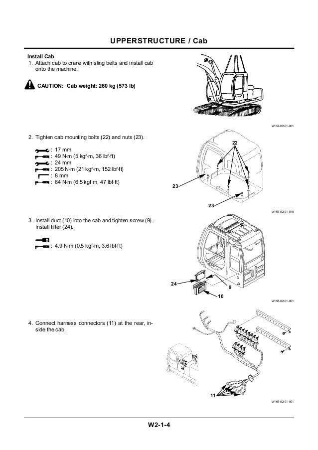 HITACHI EX550-5 EXCAVATOR Service Repair Manual