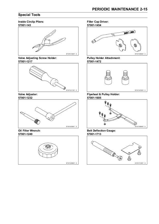 2010 Kawasaki KRF750NA Service Repair Manual
