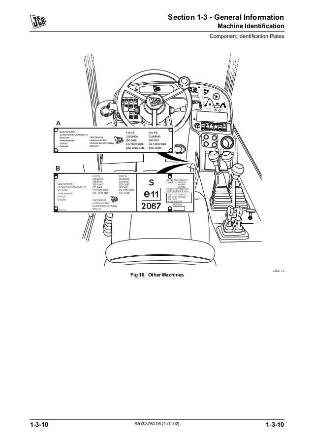 JCB 533-105 TELESCOPIC HANDLER Service Repair Manual