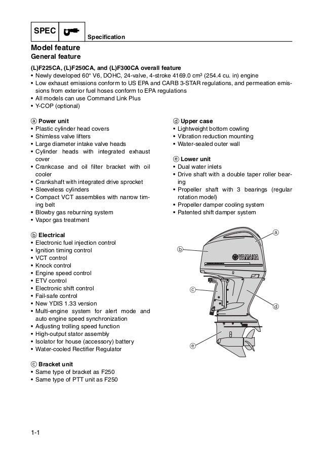 yamaha 2 stroke outboard service manual