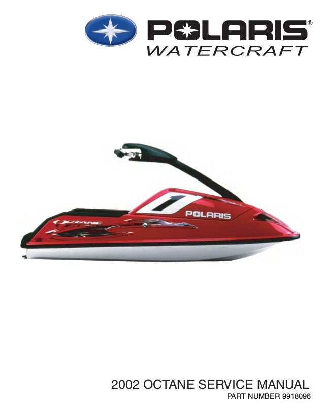 polaris personal watercraft repair manual