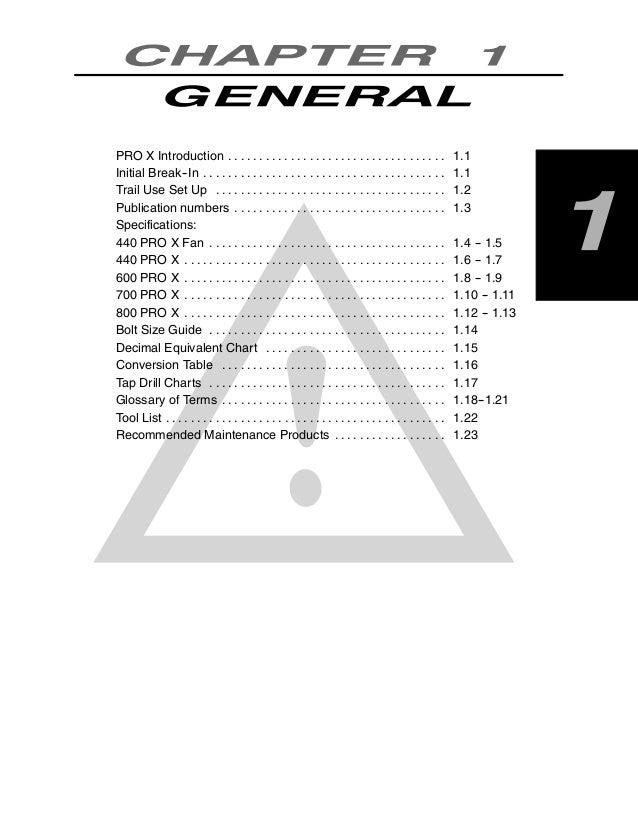 2003 Polaris 440 Pro X SNOWMOBILE Service Repair Manual