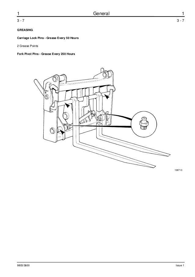 JCB 535-67 TELESCOPIC HANDLER Service Repair Manual ALL