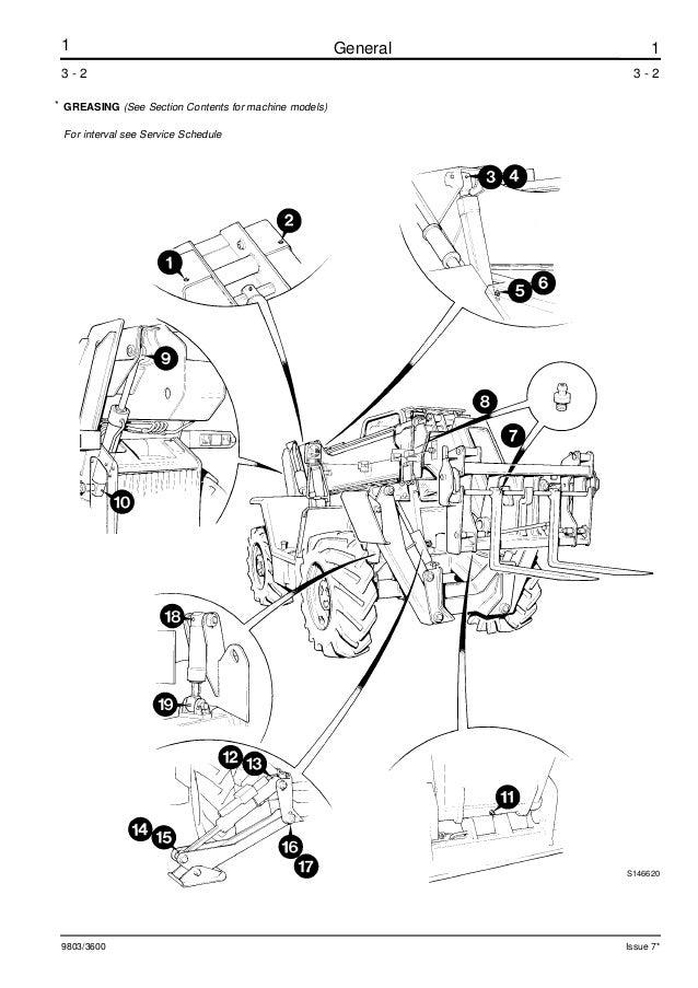 JCB 537-120 TELESCOPIC HANDLER Service Repair Manual ALL