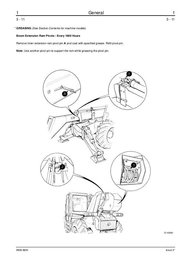 JCB 537-130 TELESCOPIC HANDLER Service Repair Manual ALL