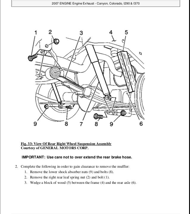2005 gmc canyon service repair manual rh slideshare net 2003 GMC Envoy Engine Diagram 2006 GMC Sierra Engine Diagram