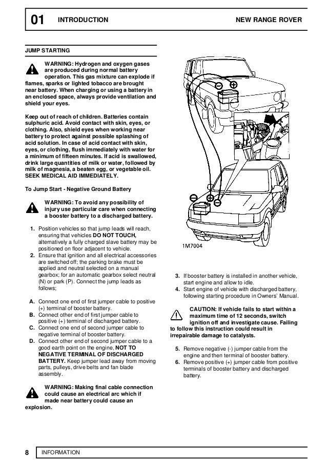 1988 LAND ROVER RANGE ROVER CLASSIC Service Repair Manual