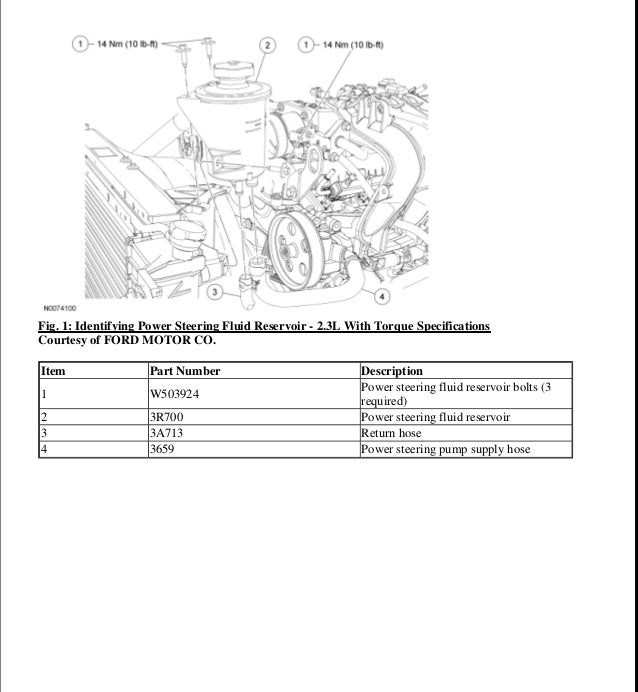 Ford Ranger 2 3l Engine Diagram - wiring diagram on the net on
