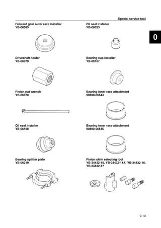 2010 Yamaha T25A 25HP OUTBOARD Service Repair Manual
