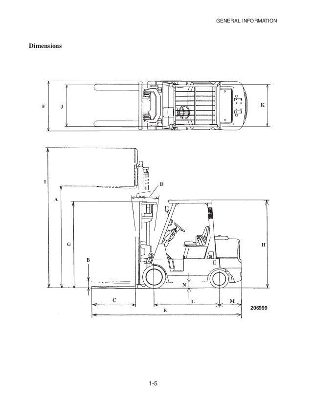 Caterpillar Cat GC45K SWB Forklift Lift Trucks Service ... on