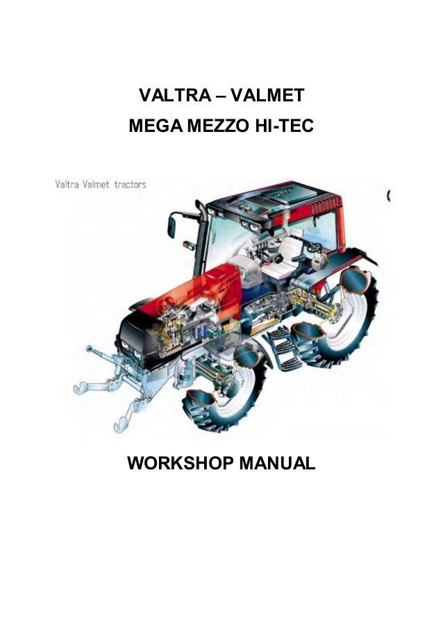 valtra valmet 6100 tractor service repair manual rh slideshare net Pontiac Shop Manual 2007 Ford Workshop Manuals