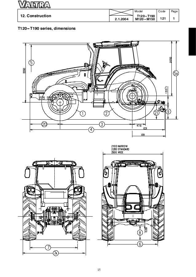 Valtra T 160 TRACTOR Service Repair Manual