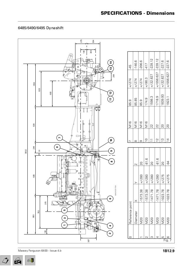 massey ferguson mf 6465 tractor service repair manual  slideshare
