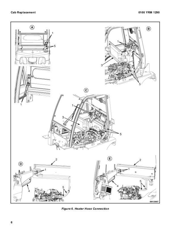 YALE H813 GLP40VX5 LIFT TRUCK (EUROPE) Service Repair Manual