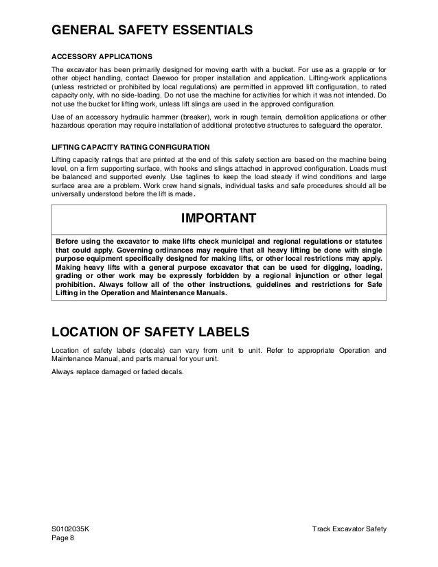 daewoo doosan solar 55 v plus excavator service repair manual rh slideshare net Lac 55 V Doosan DX140LC