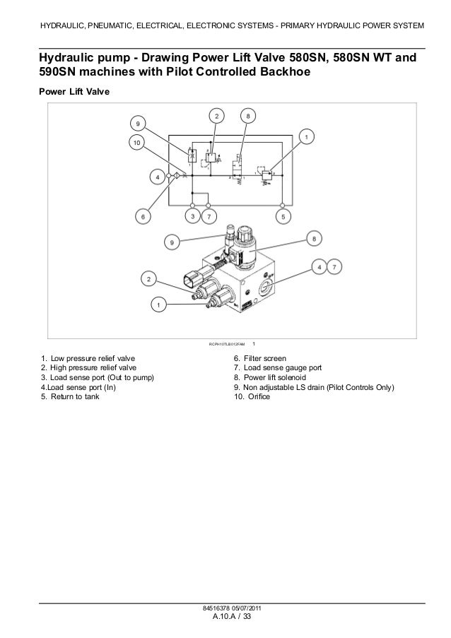 CASE 580SN-WT TRACTOR LOADER BACKHOE Service Repair Manual