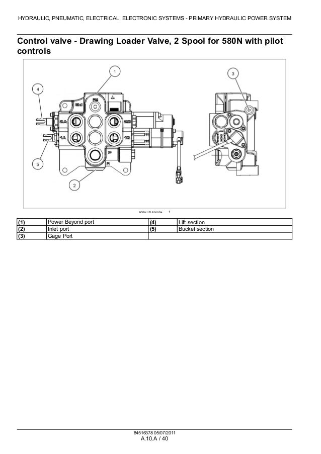 case 580sn wt tractor loader backhoe service repair manual 480 volt wiring chart a 39; 70 hydraulic, pneumatic, electrical