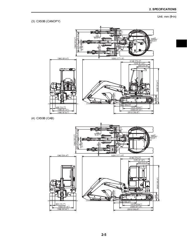 CASE CX50B MINI EXCAVATOR Service Repair Manual