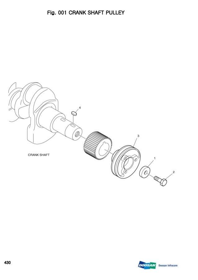 DAEWOO DOOSAN 430 SKID STEER LOADER Parts Catalogue Manual