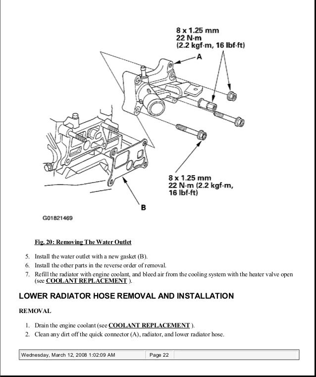 2005 acura tsx service repair manual  slideshare