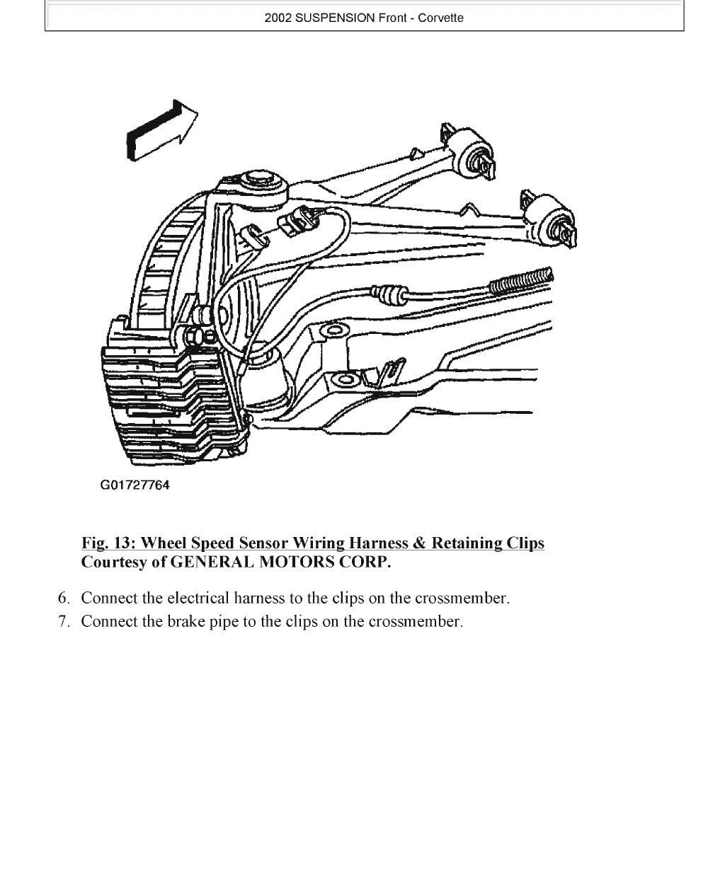2000 Chevrolet Corvette Service Repair Manual