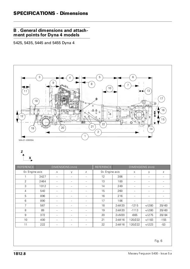 massey ferguson mf 5460 tractor service repair manual rh slideshare net Massey Ferguson 5460 Problems John Deere 5460 Specs