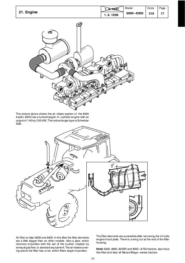 Valtra Valmet 8400 TRACTOR Service Repair Manual