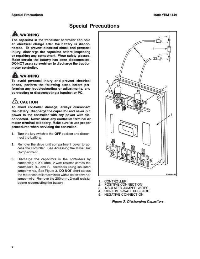 YALE A MPEVG LIFT TRUCK Service Repair Manual - Yale battery charger wiring diagram