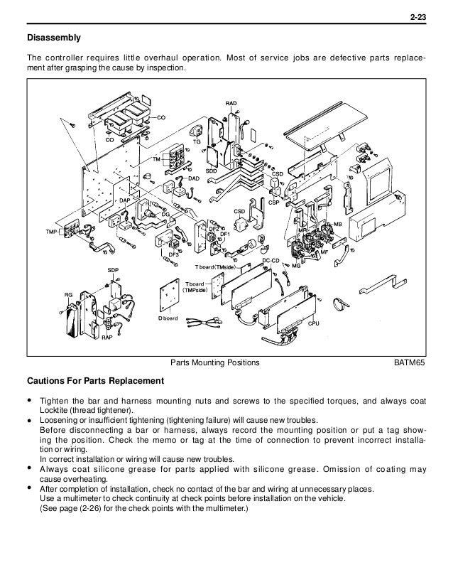 Toyota 5fb20 Forklift Service Repair Manual
