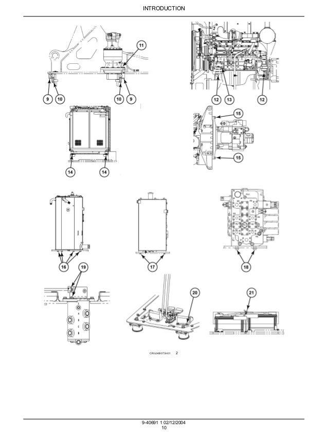CASE CX225SR CRAWLER EXCAVATOR Service Repair Manual