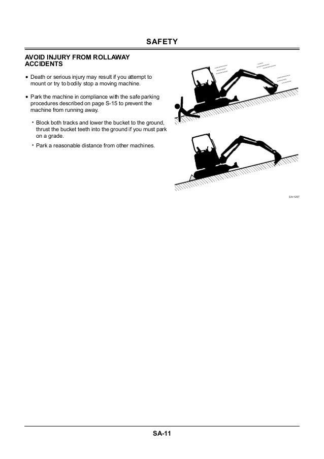 HITACHI ZAXIS 27U-2 EXCAVATOR Service Repair Manual