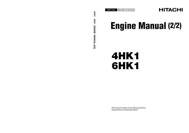 isuzu 4le1 engine manual on