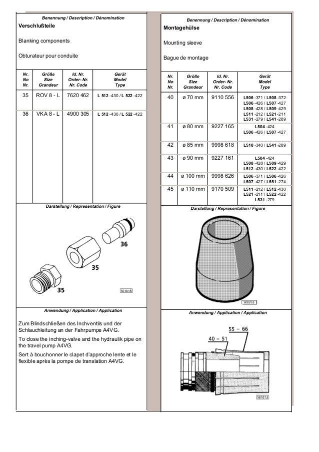Liebherr L506-426 Wheel Loader Service Repair Manual SN:0101