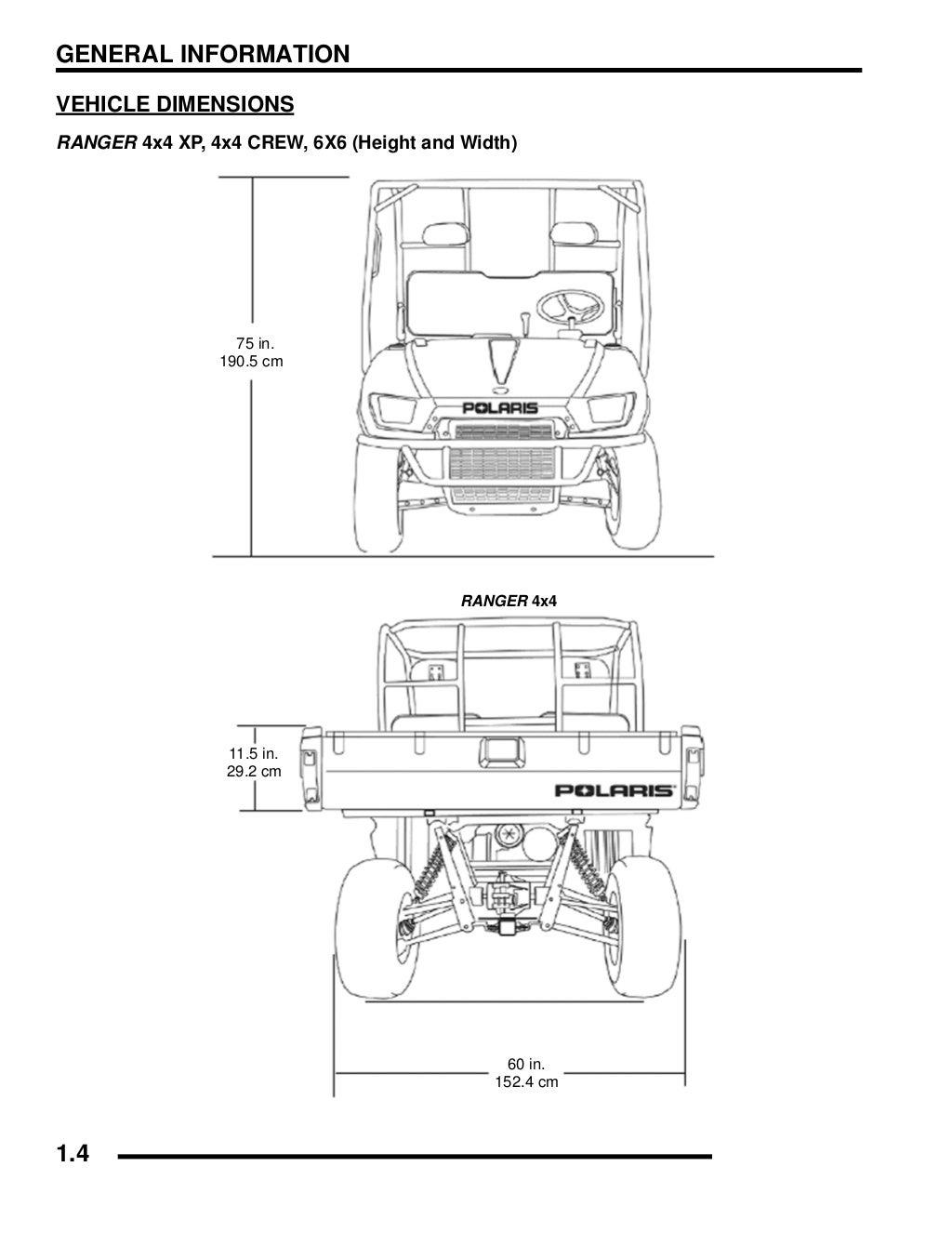 2008 Polaris Ranger 4X4 700 EFI Crew Service Repair Manual