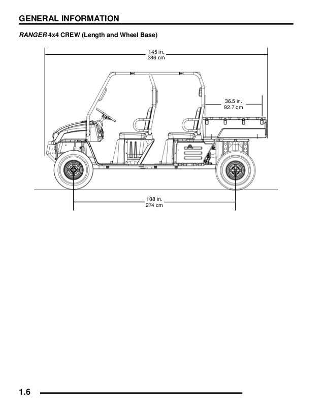 2008 Polaris Ranger 4X4 700 EFI Crew Service Repair Manual