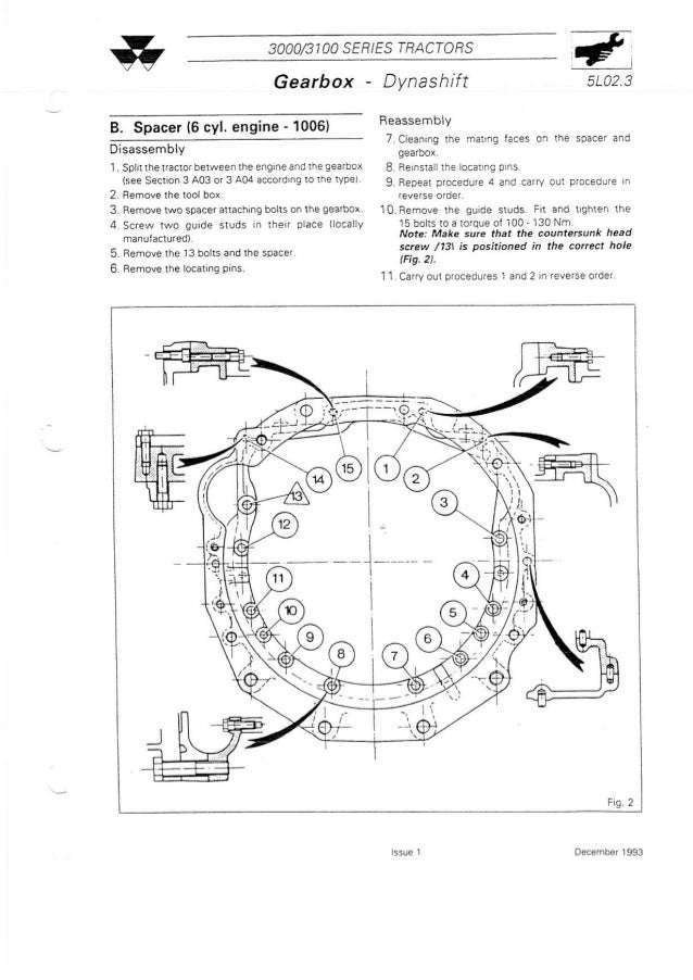 Massey Ferguson MF 3050 Tractor Service Repair Manual