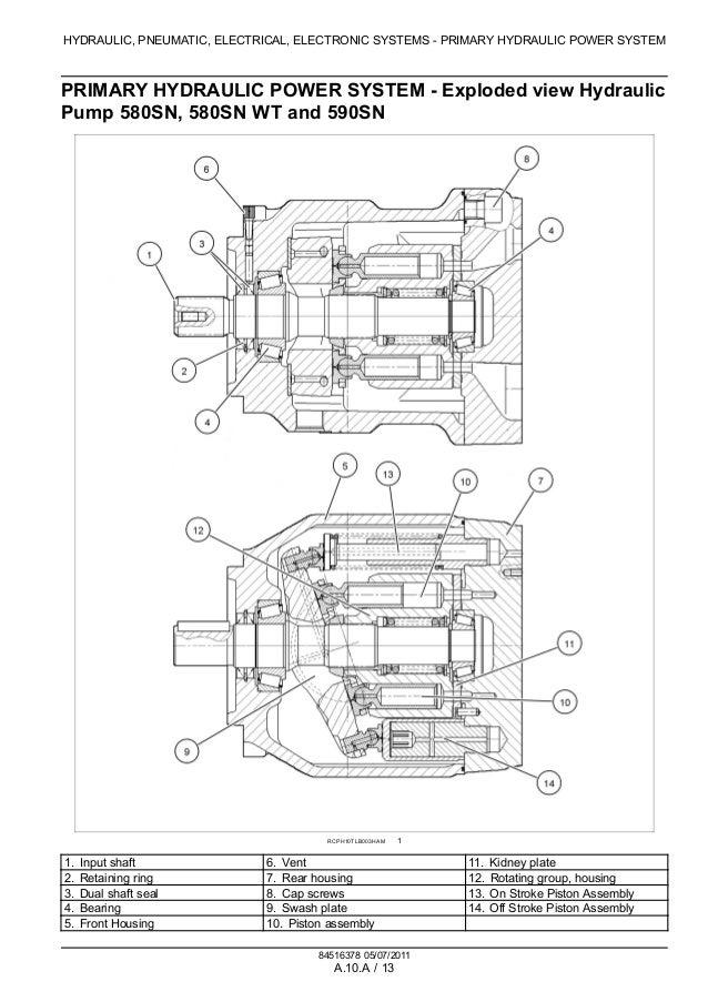CASE 580N TRACTOR LOADER BACKHOE Service Repair Manual  Hydraulic Pump Wiring Diagram on single axle trailer brake wiring diagram, hydraulic system diagram, how do car brakes work diagram,