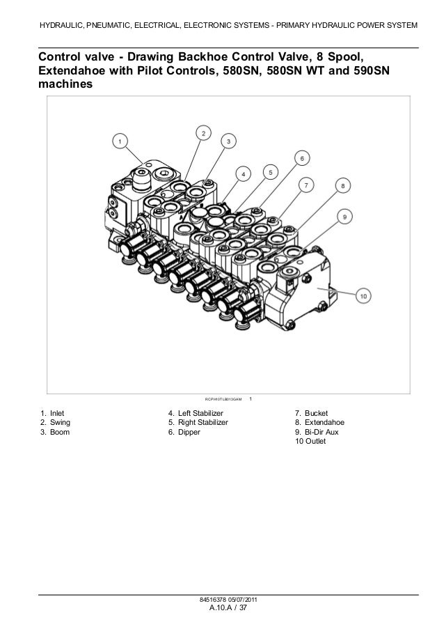 case 580n tractor loader backhoe service repair manual case e charging  system wiring diagrams on