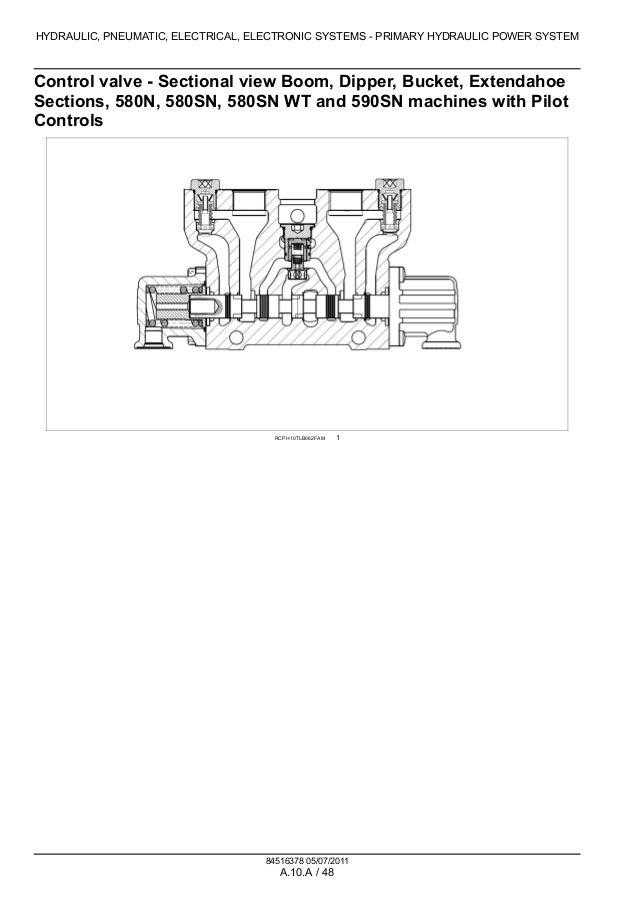 CASE 580N TRACTOR LOADER BACKHOE Service Repair Manual