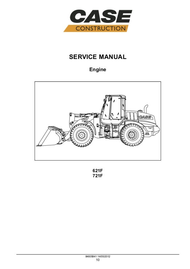 case 721f tier 4 wheel loader service repair manual rh slideshare net case uniloader manual case loader operators manual