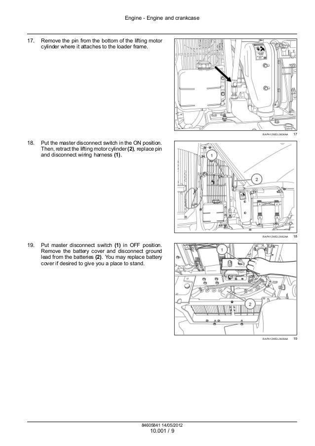 Case f tier wheel loader service repair manual