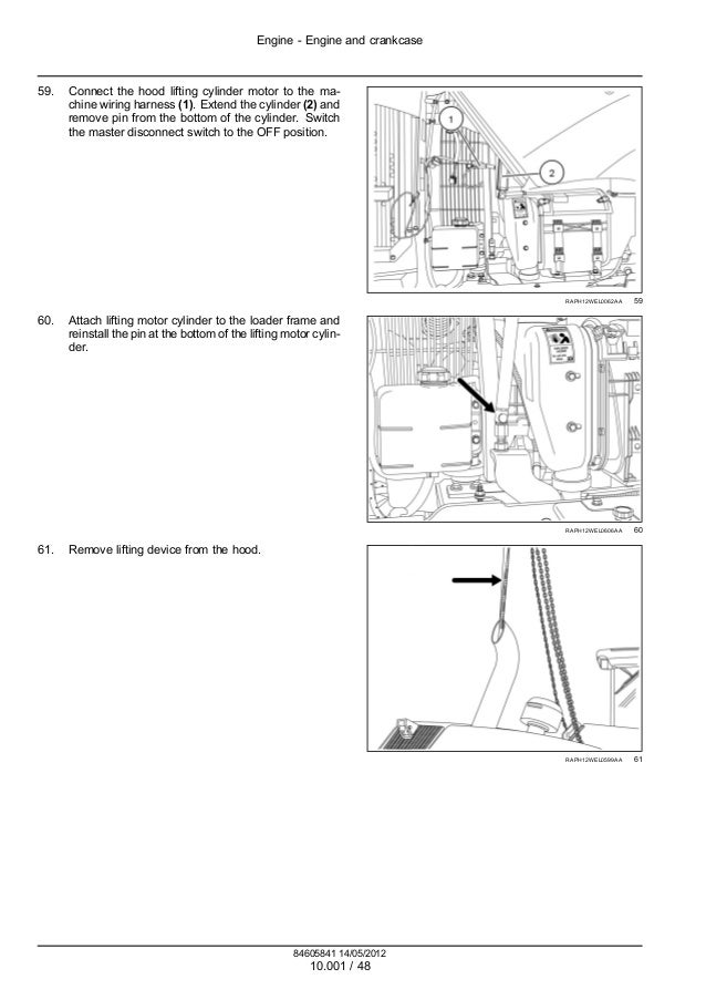 CASE 721F TIER 4 WHEEL LOADER Service Repair Manual