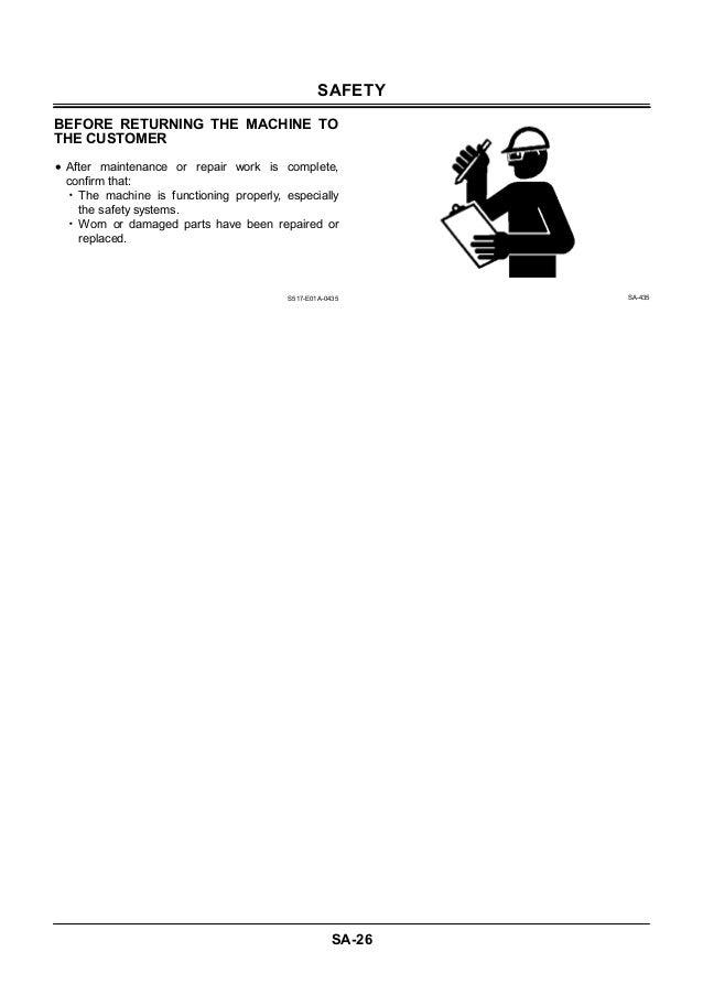 hitachi ex3600 5 excavator service repair manual rh slideshare net Hitachi Excavators Hitachi EX 200 Service Manuals
