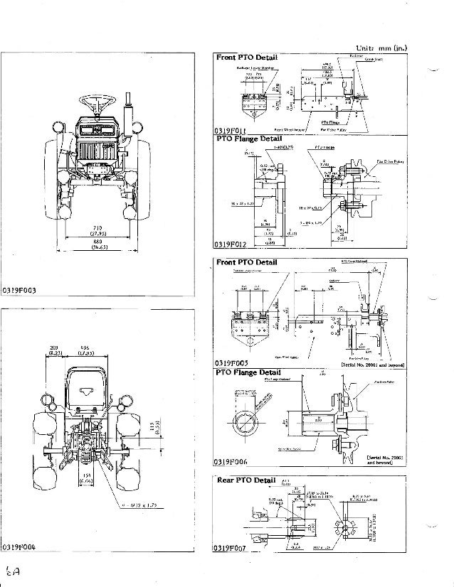 Kubota B5200 Tractor Service Repair Manual