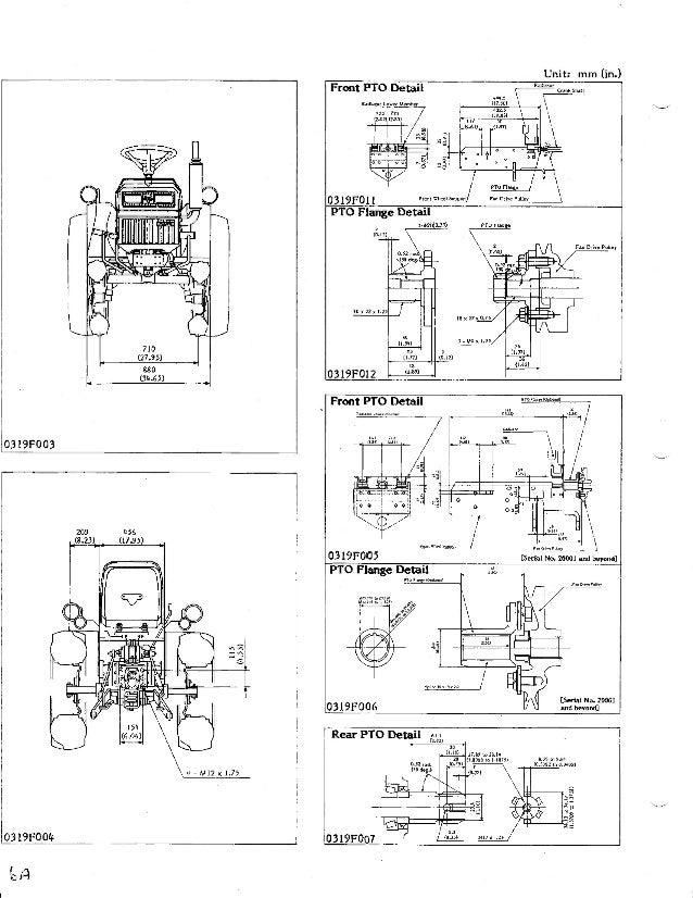 Kubota B5200 Tractor Service Repair Manual