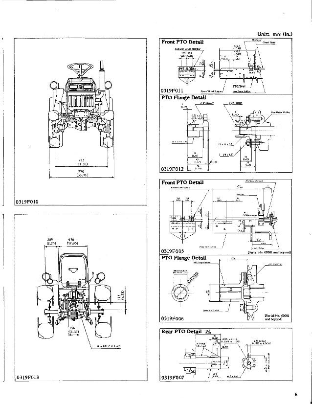 kubota b5200 tractor service repair manual rh slideshare net Kubota B7500 Kubota B7500 Trencher